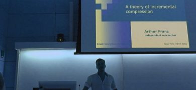 AGI-16 Arthur Franz - Some theorems on incremental compression
